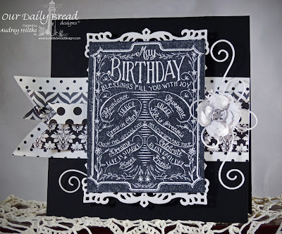 Our Daily Bread Designs Chalkboard Birthday and Thanks