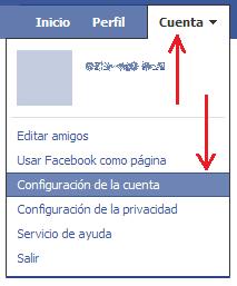Cómo desactivar tu cuenta en Facebook ConfCuenta