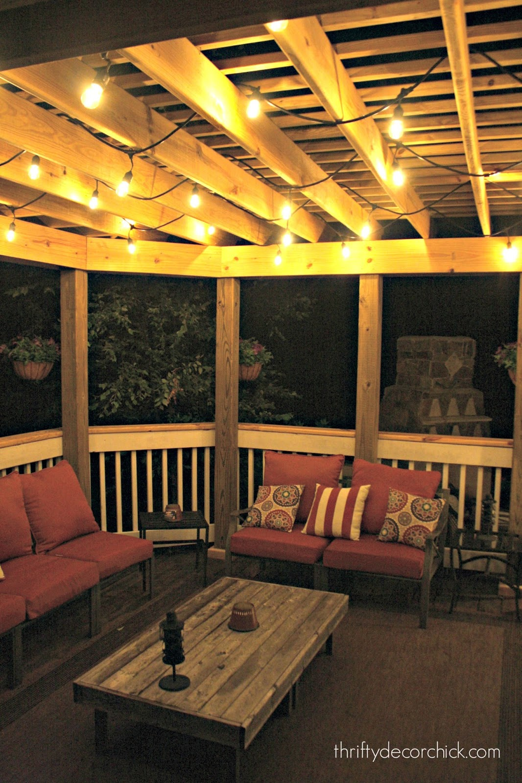 Outdoor hanging lanterns for patio - Best Outdoor Lights Pergola