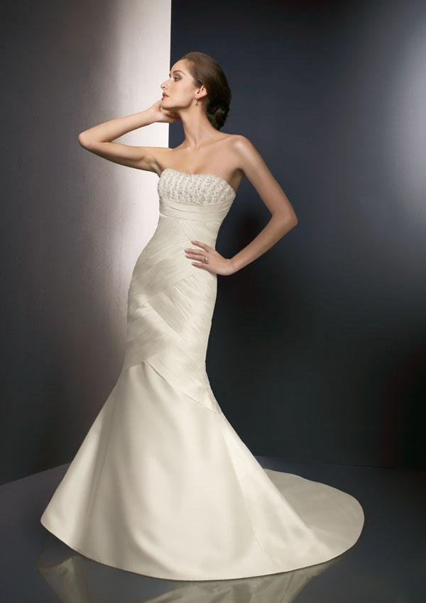 Wedding Dresses Strapless Mermaid 71