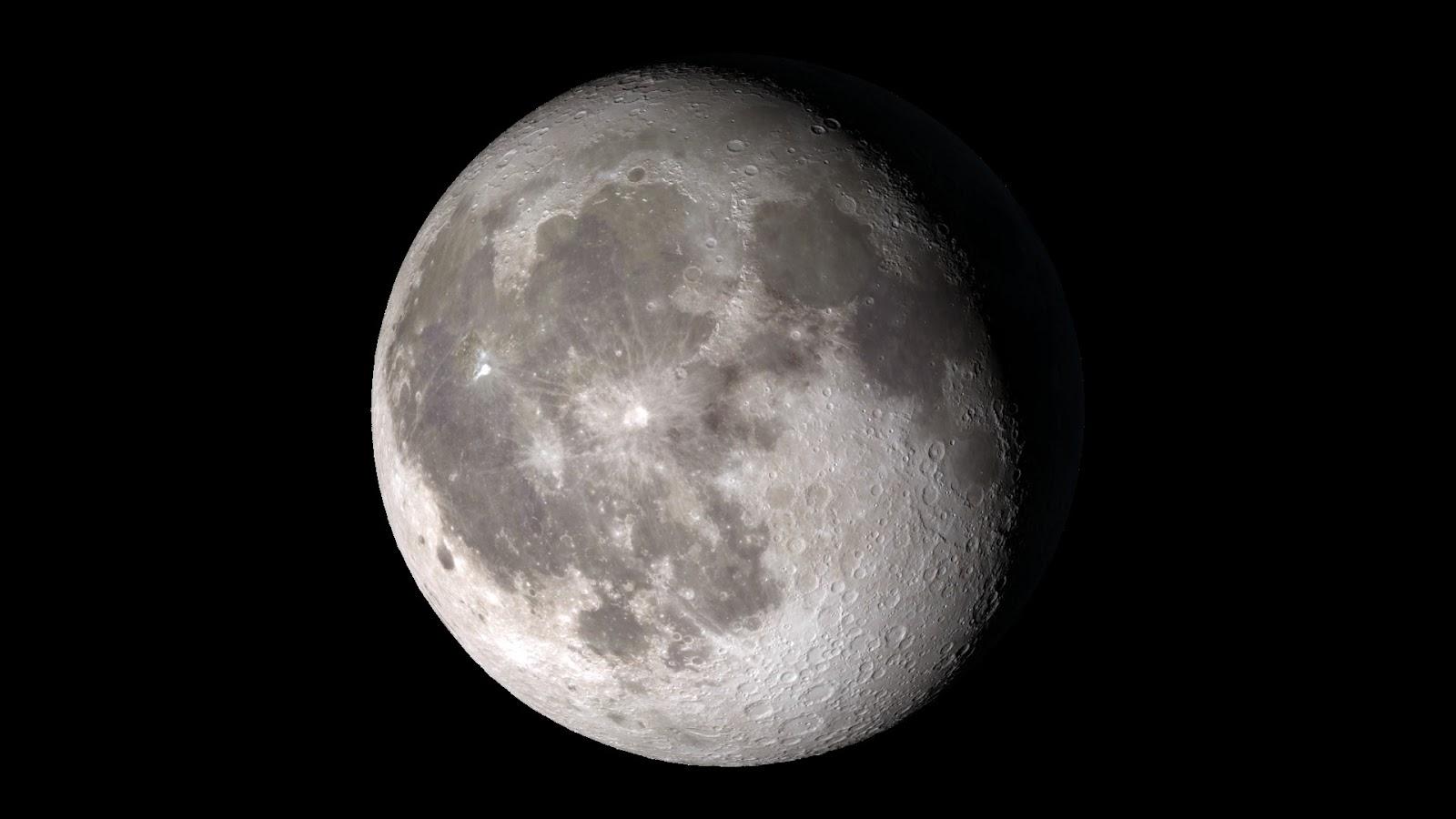 Adi s a la luna colgado por los newtons for Que luna tenemos hoy