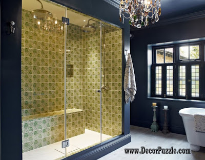 shower tile ideas, shower tile designs, tiling a shower, shower tile patterns
