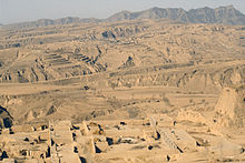 Loess near Hunyuan, Shanxi province, China.
