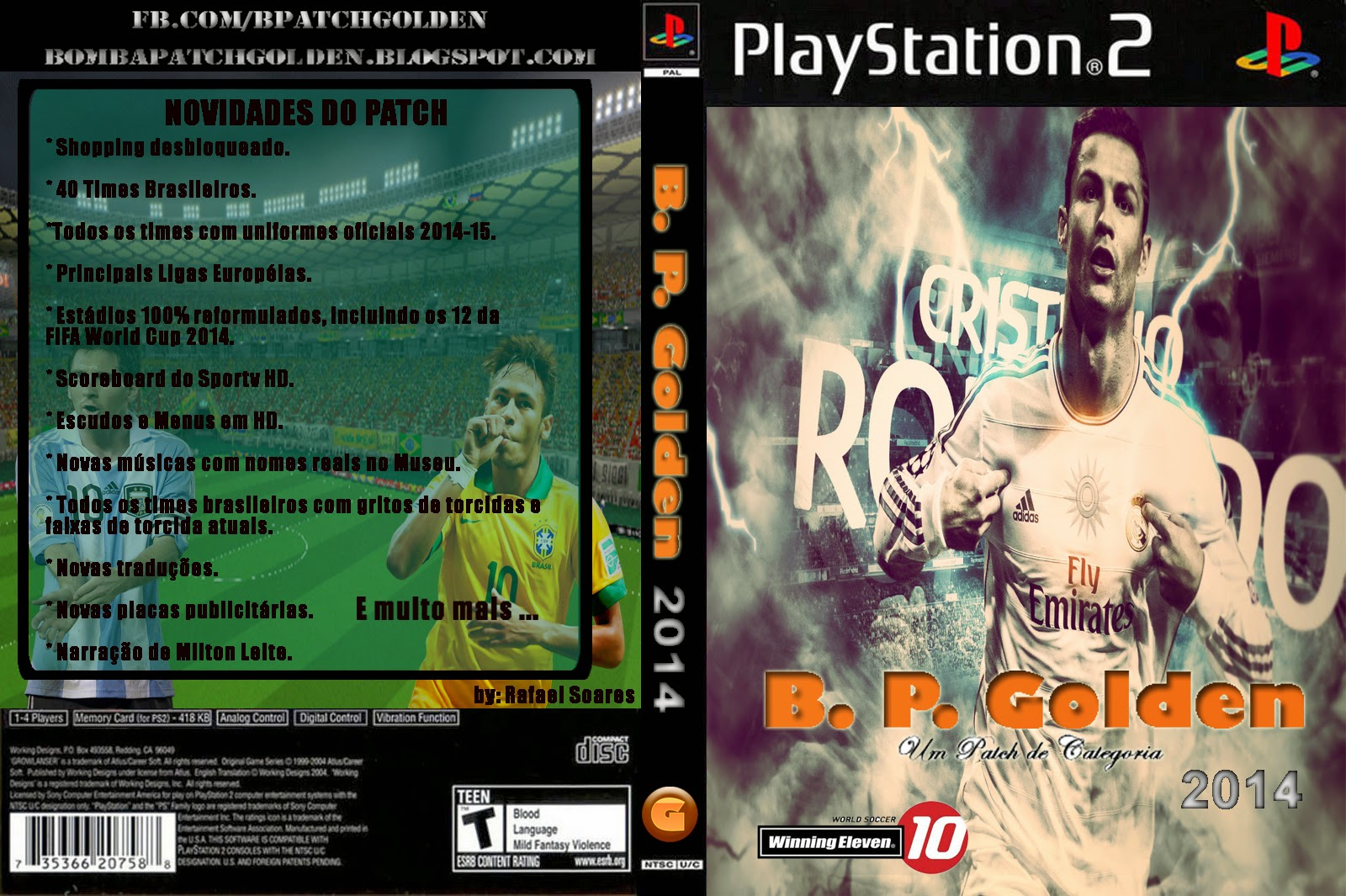 Torrent Super Compactado Bomba Patch Golden 2014 PS2
