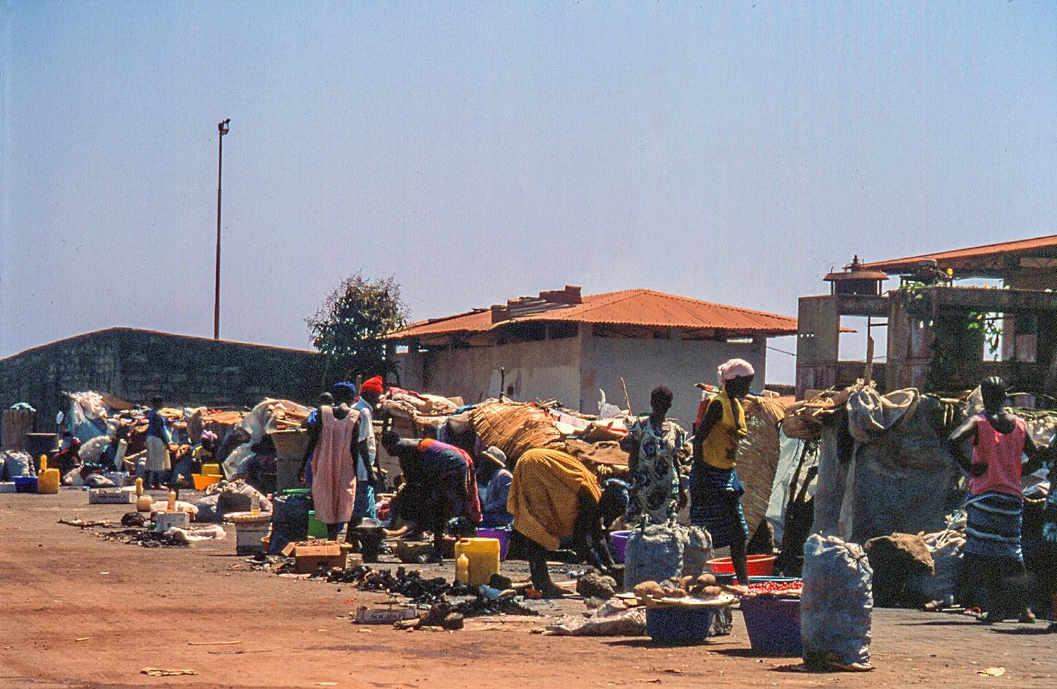 Guinea Bissu  mercado Bandin