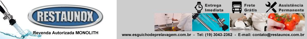 Esguicho de Pré-Lavagem