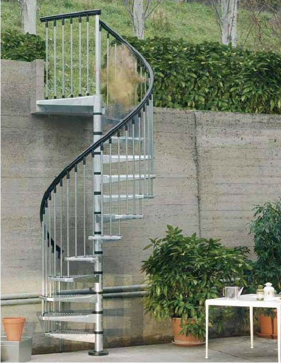 El blog de escaleras enesca for Materiales para escaleras exteriores