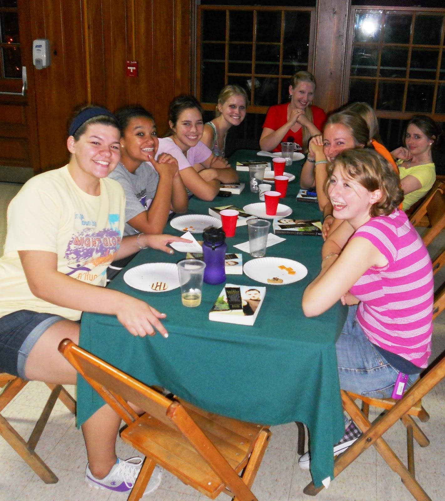5th Annual Honors Program Retreat at Camp Nuhop
