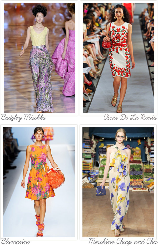 Spotted On Almost Every Catwalk This Season Floral Print Dresses Are Now Dominating The Racks Of Shop And Great Thing Is Variety