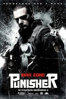 Amerikansk poster for Punisher: War Zone (2008)