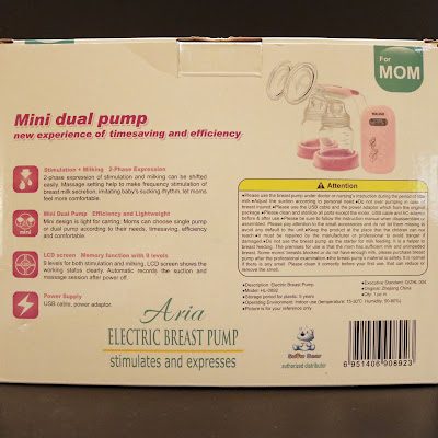 Malish Aria Breast Pump Cute Ringan Auto Manual Electric Double Motor Breastpump powerbank