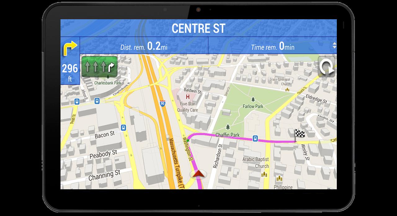 Скачать приложение навигатор на телефон бесплатно