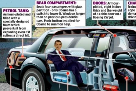 barack obama cars car interior design. Black Bedroom Furniture Sets. Home Design Ideas
