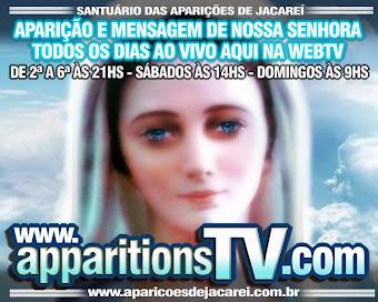 CENÁCULO E APARIÇÃO AO VIVO DIARIAMENTE!!! CLIQUE AQUI!!!