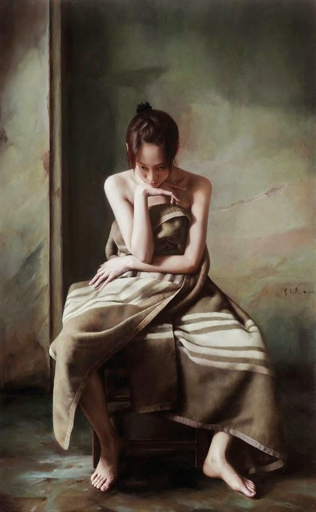 Serie: Los Pintores - 32 - Li Wentao