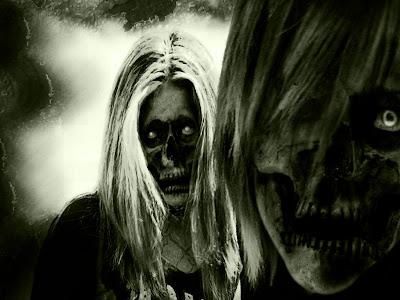 Old Skull Wallpaper - Horror Wallpaper