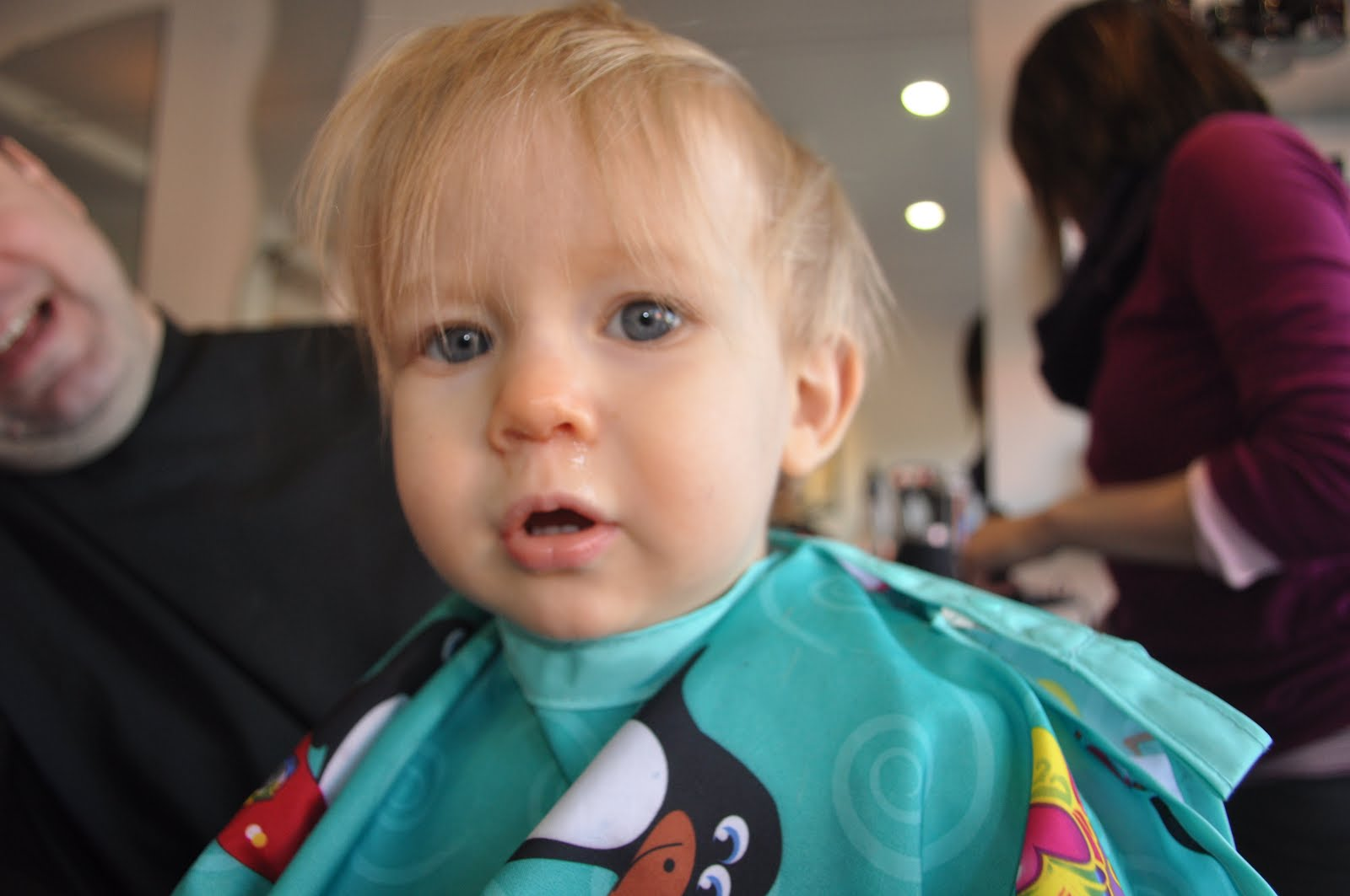 Stream of Consciousness: Baby Boy's first hair cut