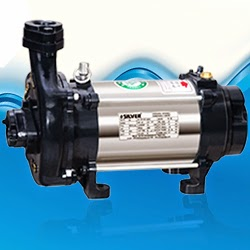 Silver Single Phase Open Well Pump M-26 (0.75HP) (Copper Rotor) Online Dealers, India - Pumpkart.com