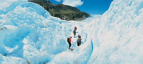 Glaciar Franz Josef en Nueva Zelanda
