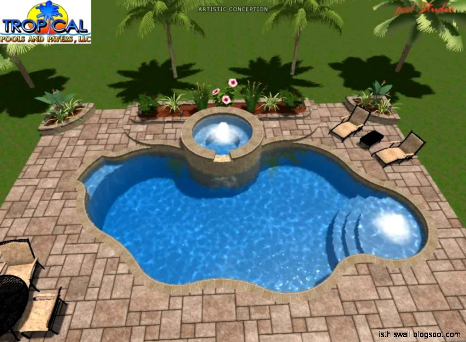 3d swimming pool design this wallpapers for Pool design 3d