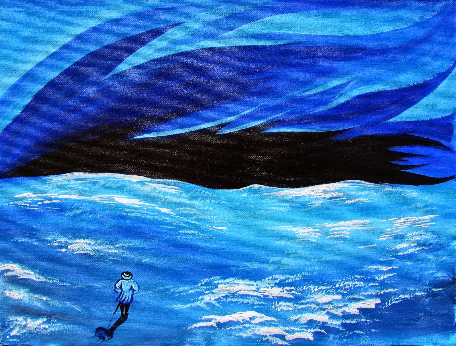 El prado azul