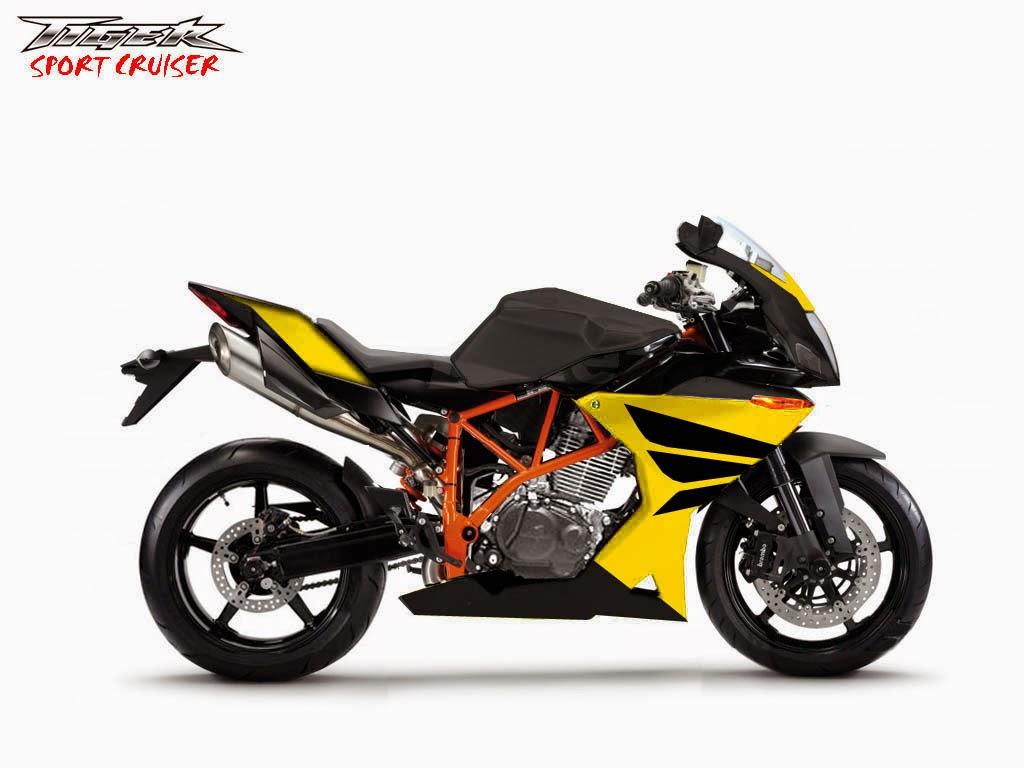 Modifikasi Motor Honda Tiger Full Fairing Lebih Garang MyOtomotif