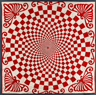 American Folk Art Museum Red and White Quilts