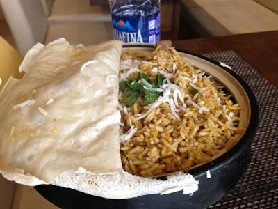 Biryani at Punjab Grill, Pune