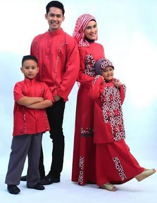 Gambar Model Baju Sarimbit Muslim Keluarga Terbaik