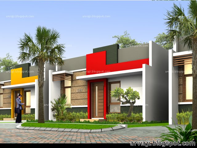 Desain Rumah Modern Minimalis 1 Lantai 2013