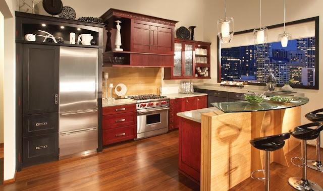 U-Shape Kitchen Cabinet Desigh