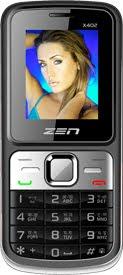 Dual SIM Big Battery Mobile Zen X402