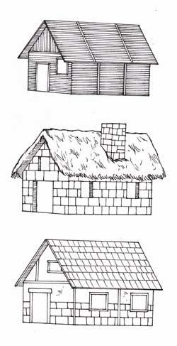 Sutori: Dibujo de escenarios #2 - Cómo dibujar casas y edificios