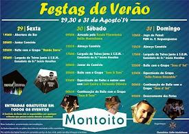 FESTAS DE VERÃO - MONTOITO