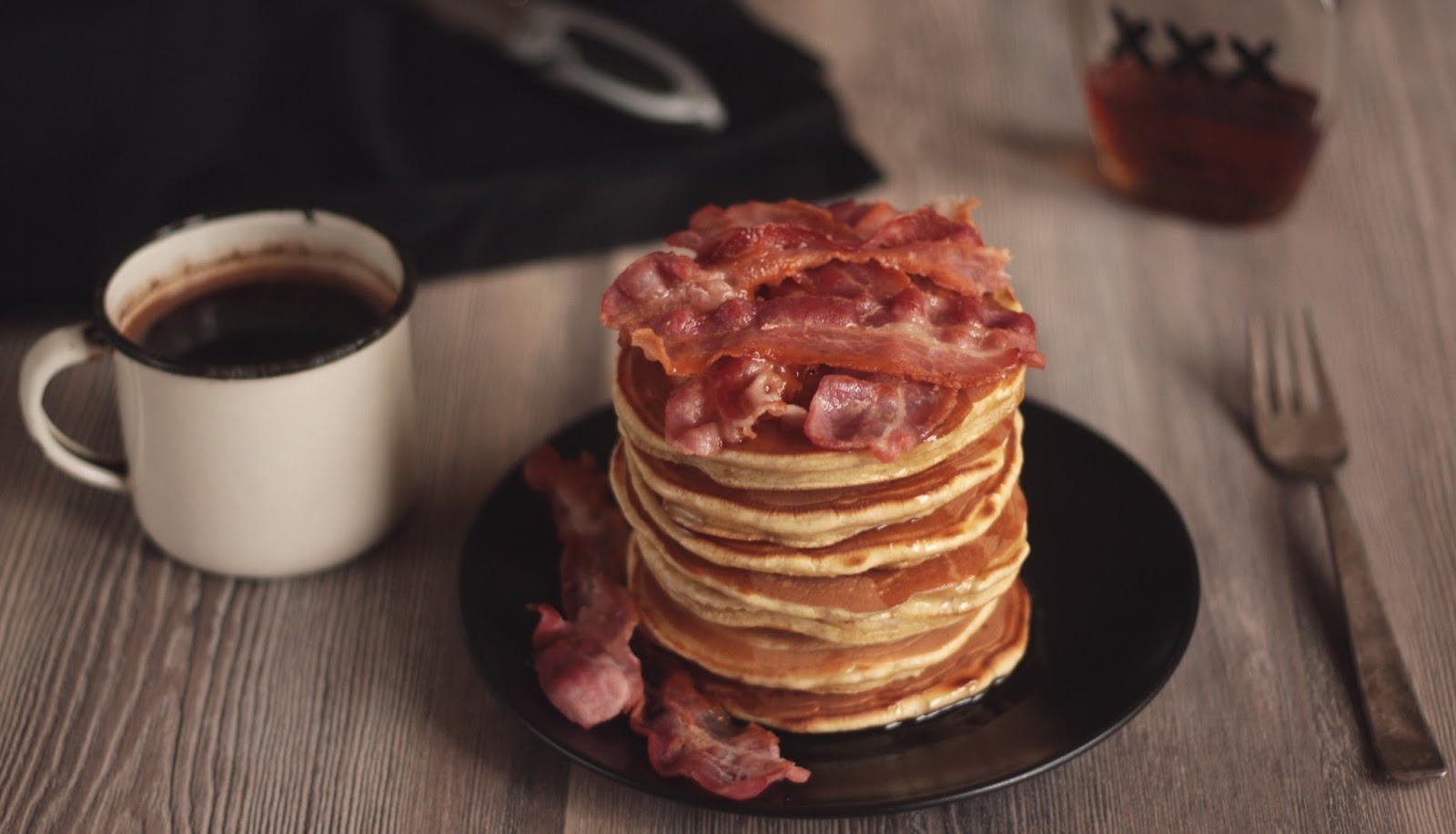 Pancakes for all the beer and bacon lovers out there.