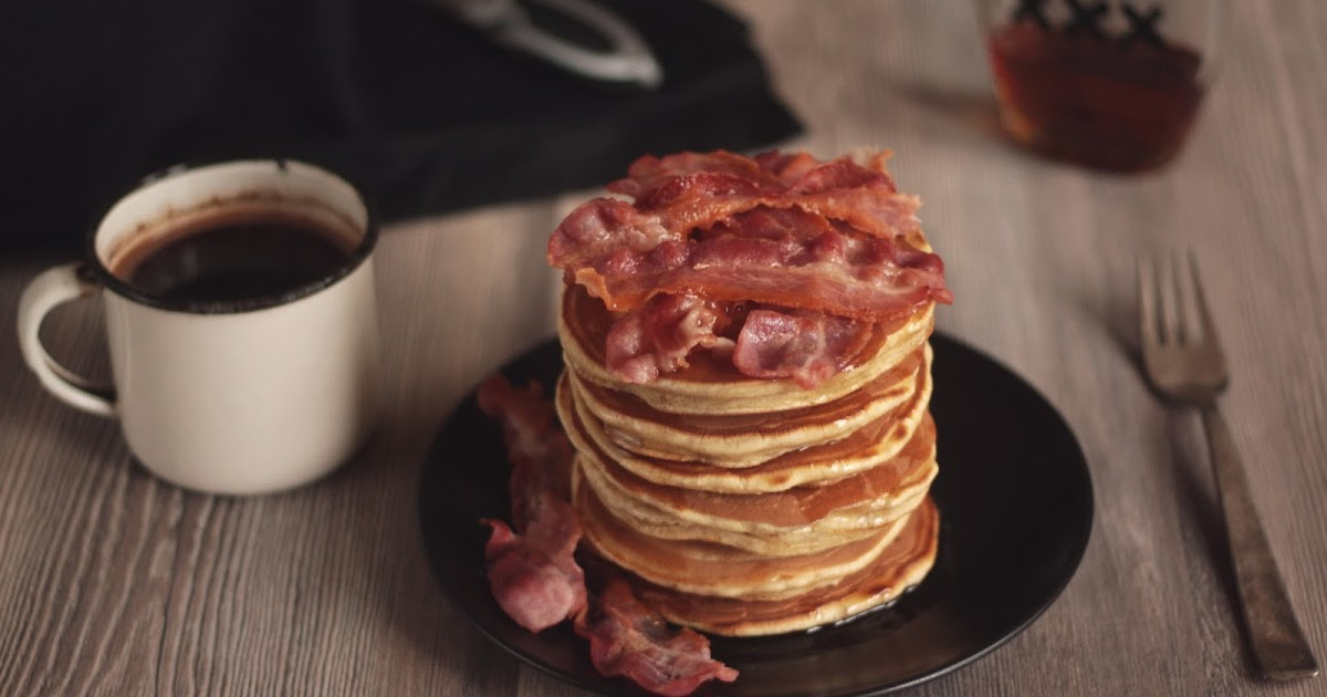 Pancake Stories: Mancakes - Bacon and Beer Pancakes with Homemade ...