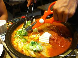 Samgyup Kimchi Jigae