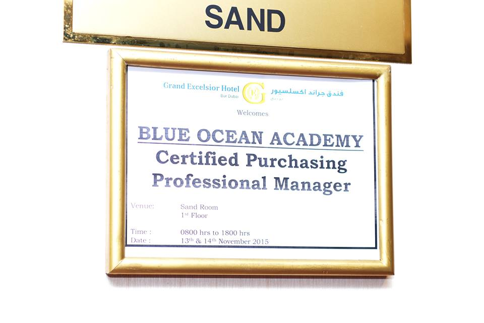 Blue Ocean Academy Certified Professional Purchasing Managers Cppm