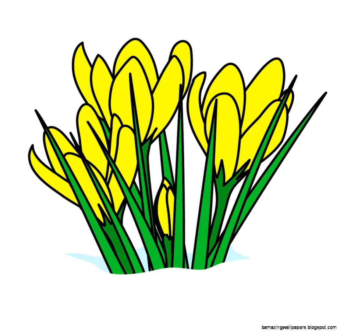 Easter Flowers Clipart   Clipart Kid