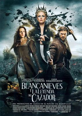 Blancanieves y la leyenda del cazador cartel