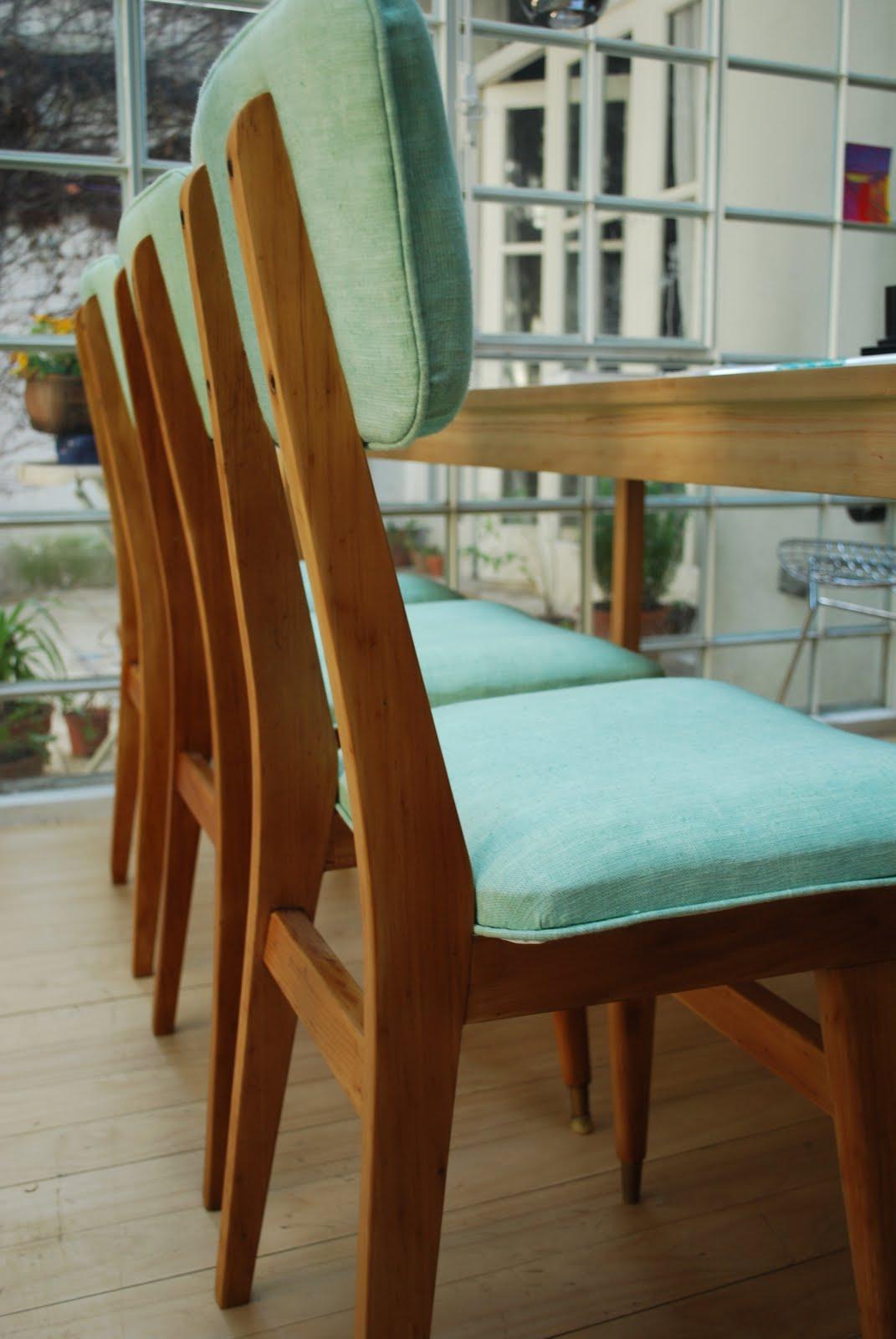 Broca sillas restauradas for Sillas antiguas restauradas