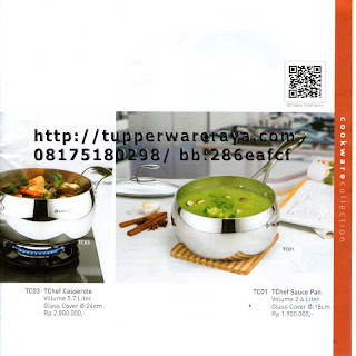 TupperwareRaya-Katalog Tupperware Tchef Series