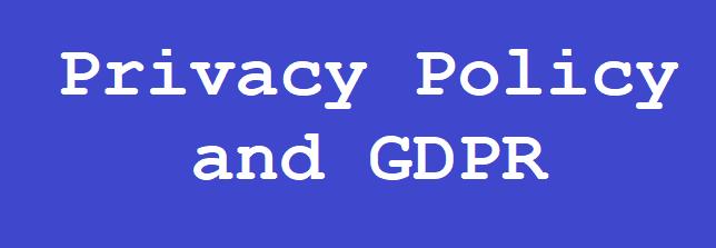 Πολιτική Απορρήτου και Γενικός Κανονισμός Προστασίας Δεδομένων