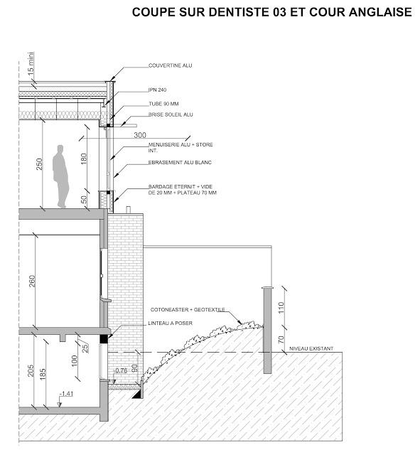 Sur l vation d 39 un cabinet dentaire armenti res 59 for Architecture anglaise