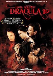 Uno de carteles para el Drácula de Argento