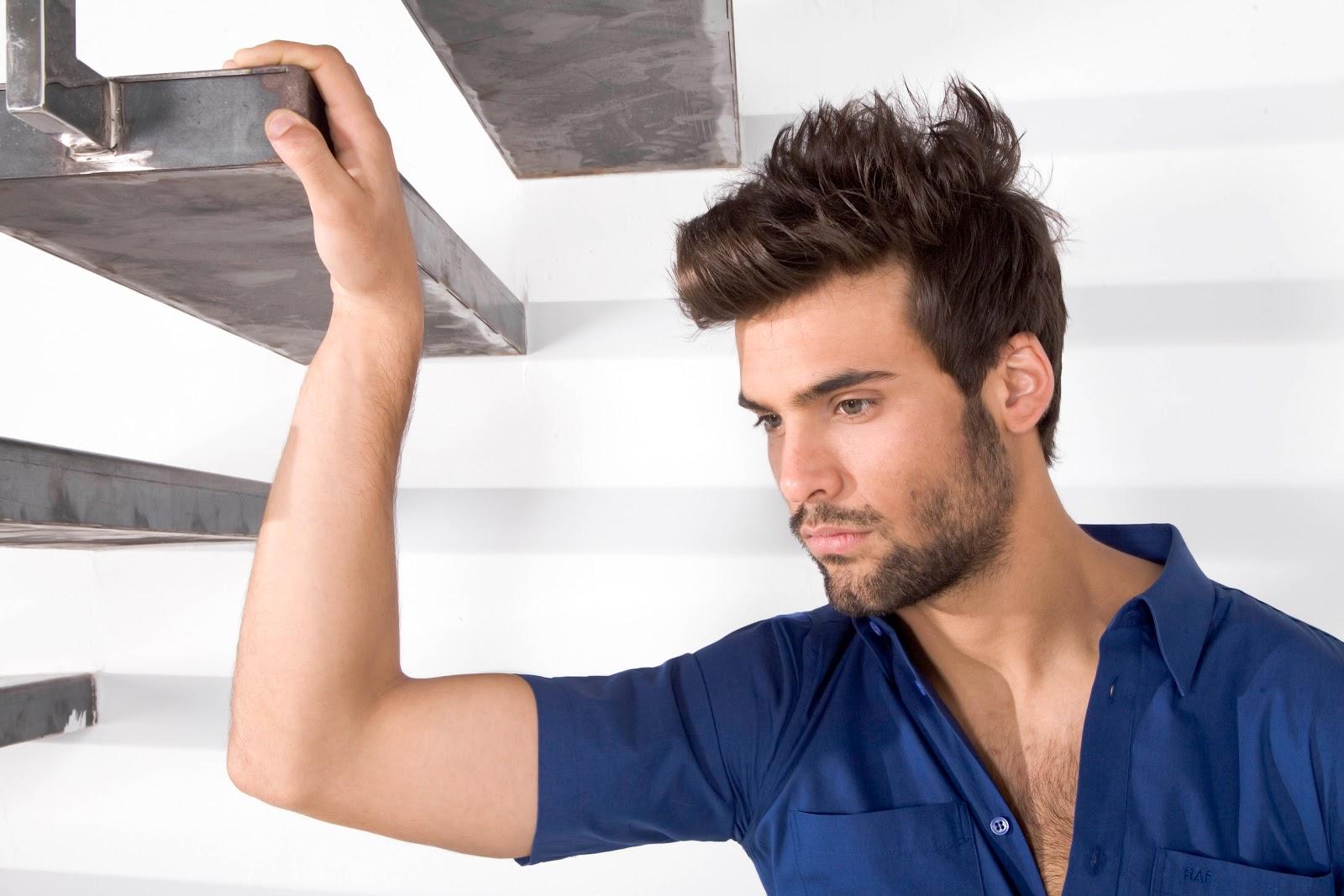Cómo hacer un corte de pelo para hombre Peinados para  - Cortar Pelo Hombre Maquina