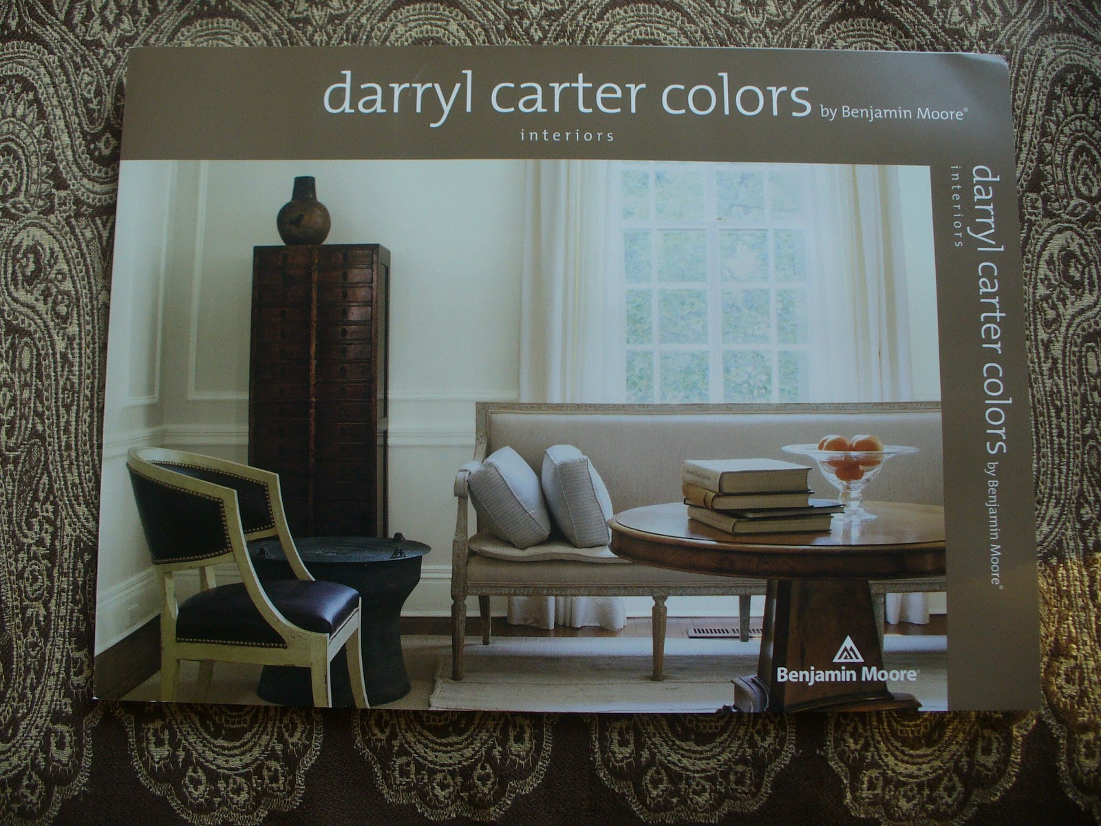 My notting hill cracking the darryl carter bm paint code for Darryl carter store