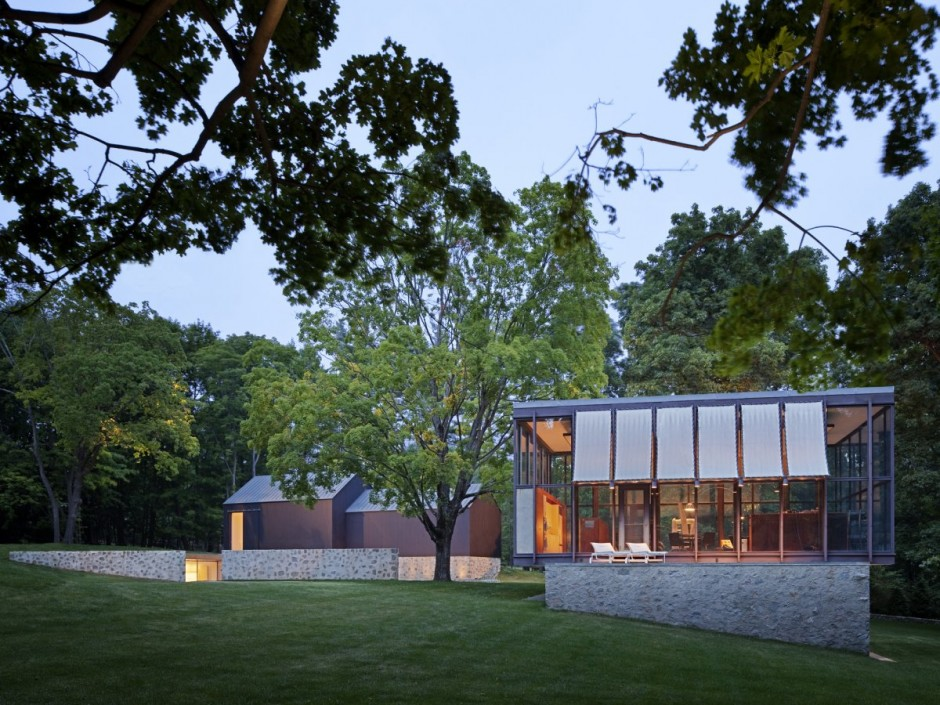 Country Estate in New Canaan, Connecticut by Roger Ferris + Partners 