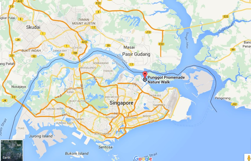 Coney Island Park Singapore Map Tourist Attractions in Singapore – Singapore Tourist Map