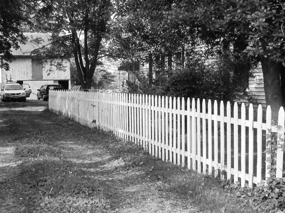 Climbing the digital mountain old picket fence